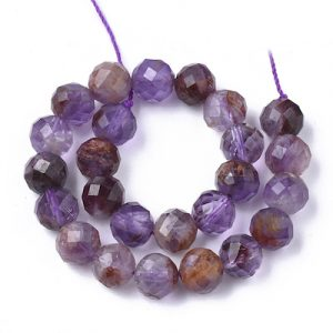 Quartz - Rutilated - Purple (Faceted) | Crystals To Inspire