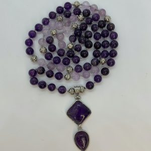 Amethyst 88 Bead Necklace | Crystals To Inspire